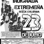 Cartel de las marchas del 23J