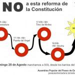 Domingo 28A, únete a la marcha a SOL contra la reforma de la Constitución