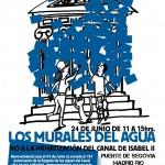 Murales por el agua pública: 24 de Junio