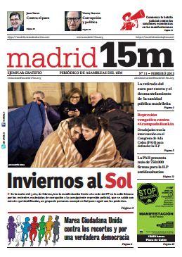Número 11 de Madrid15M