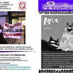 Boletín diciembre, Asamblea popular Paseo de Extremadura