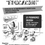 Charla-debate sobre educación