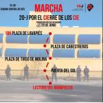 Marcha 20-J por el cierre de los CIE