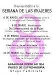 SEMANA DE LAS MUJERES en el Paseo de Extremadura